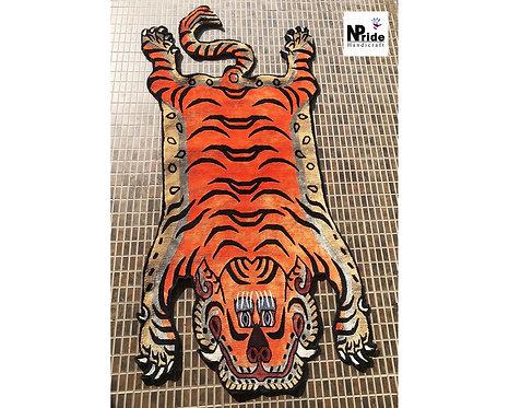 Tibetan Tiger Rug 056