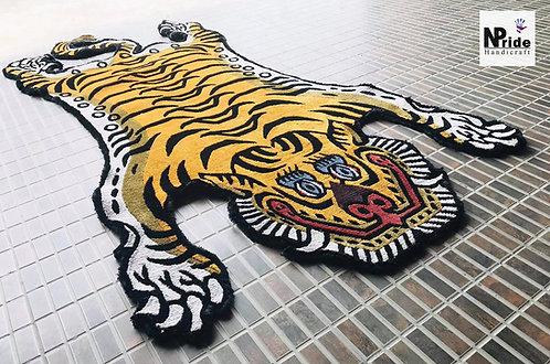 Tiger Rug Silk 3 Sizes 04