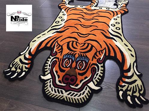 Tibetan Tiger Rug  3 Sizes 09