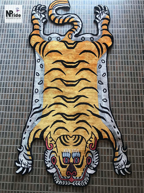 Tiger Rug Silk 3 Sizes 052