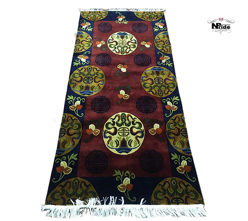 Tibetan Mandala Rug 019