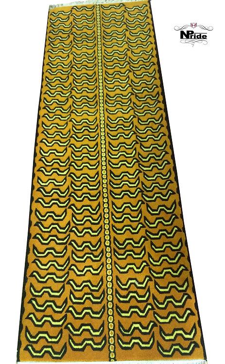 Tiger Pattern Rug 025