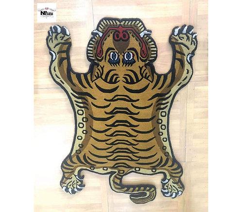 Tiger Rug Beige 2 Sizes 014
