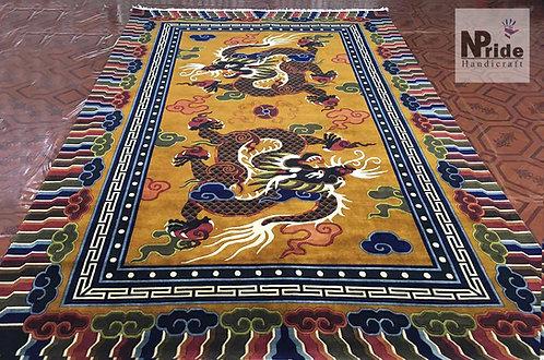 Tibetan Dragon Rug 078