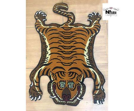 Tibetan Tiger Rug Beige 013