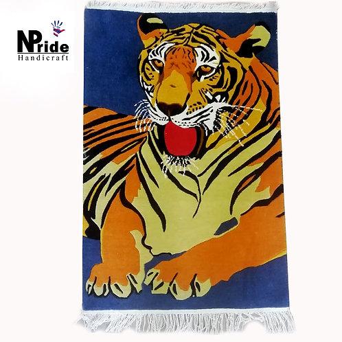 Tiger Rectangle Rug 027