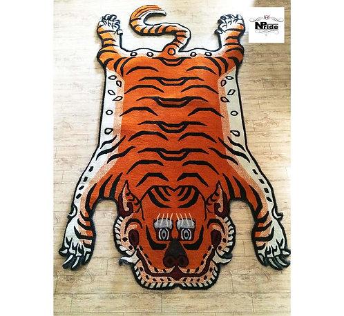 Tibetan Tiger Rug 3 Sizes 06