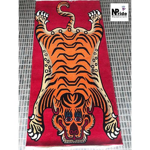 Tibetan Tiger Rug Large 010
