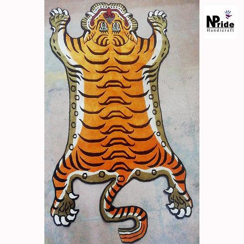 Silk Tiger Rug Large 029