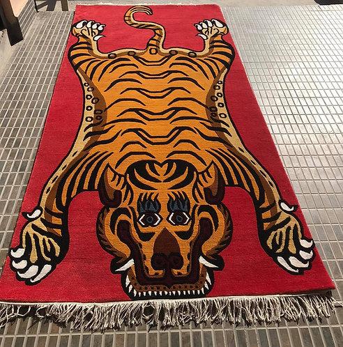 Tibetan Tiger Rug Rectangle 061