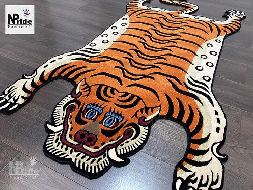 Tibetan Tiger Rug Large 055