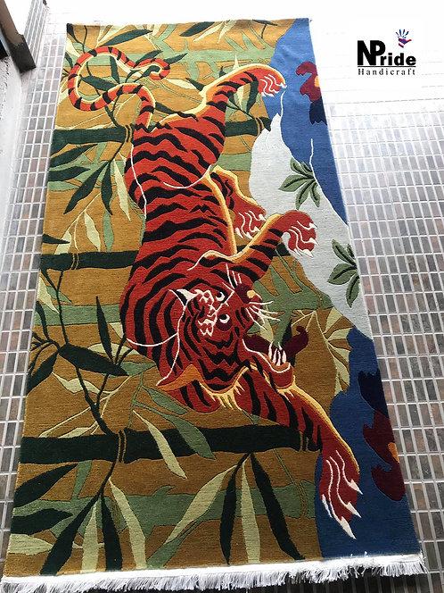 Tibetan Tiger Rug  047