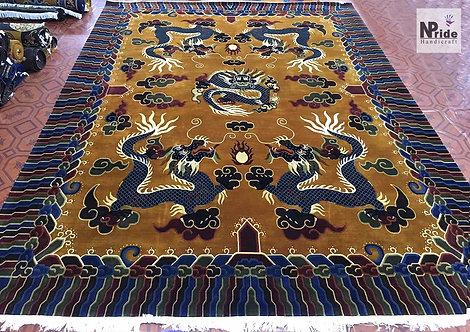 Tibetan Dragon Rug 077