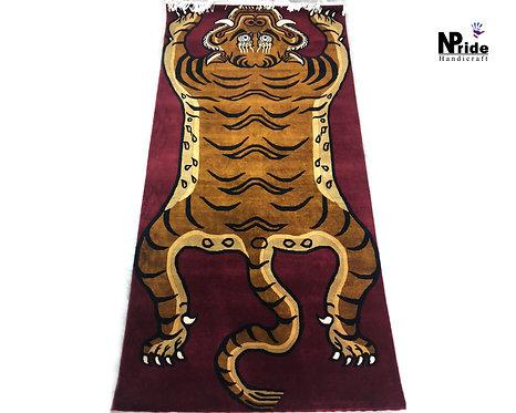 Tibetan Tiger Rug Beige 011