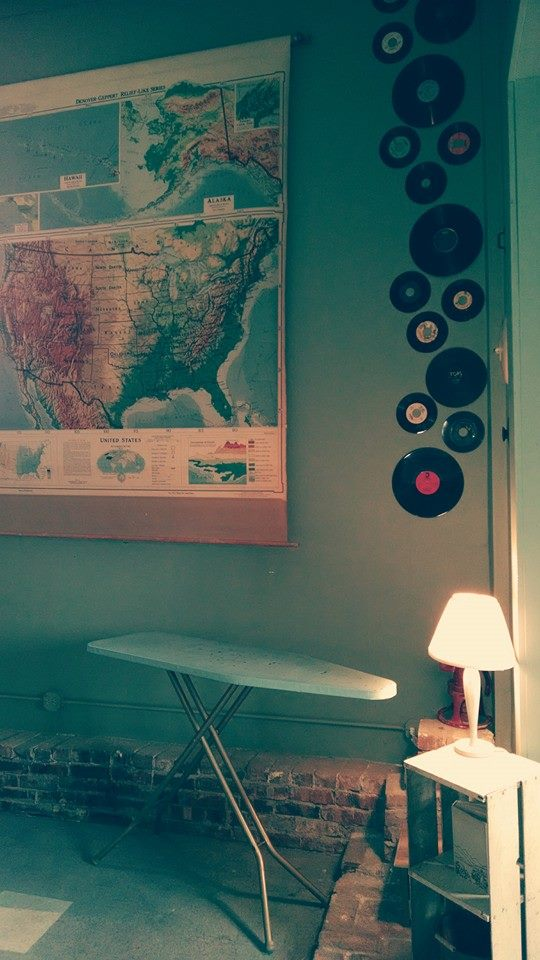 Records and map