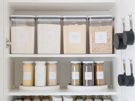 6 Steps to an Organized Pantry