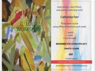 Exciting new colour workshop!