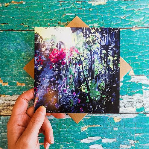 Blank Card: Amy's Garden