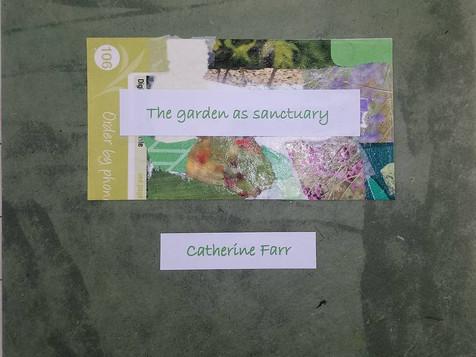 The garden as sanctuary