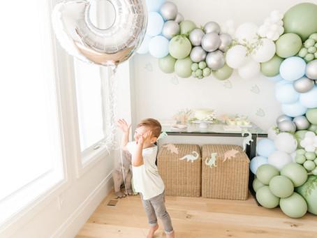 Mattias' 3rd Birthday!