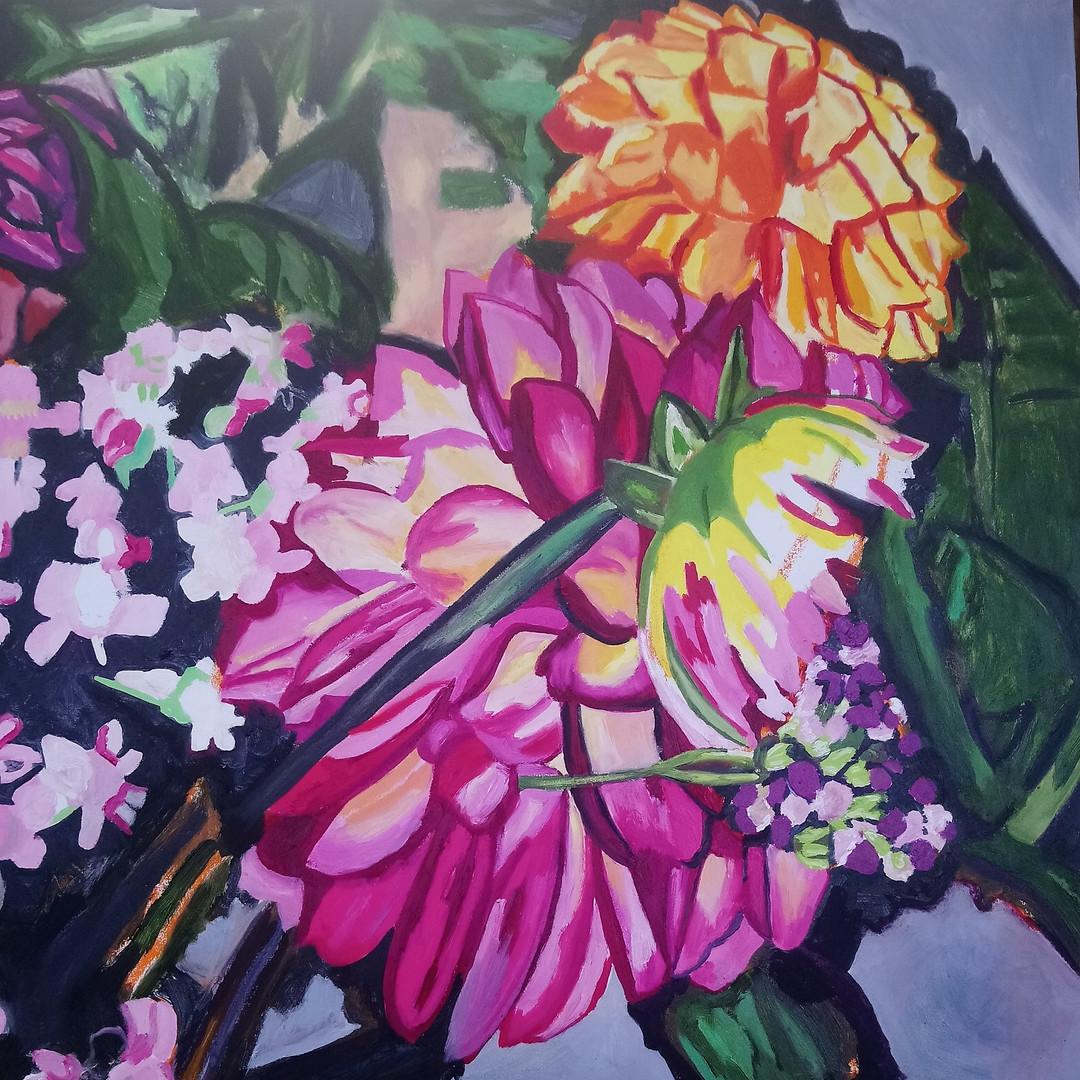 Bouquet, 65cm sq, oil on board, £650.jpg