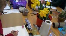 Weekly art class....