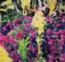 Dixter Euphorbia and Erysimum heaven may