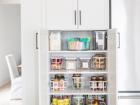 Deep Pantry Organization
