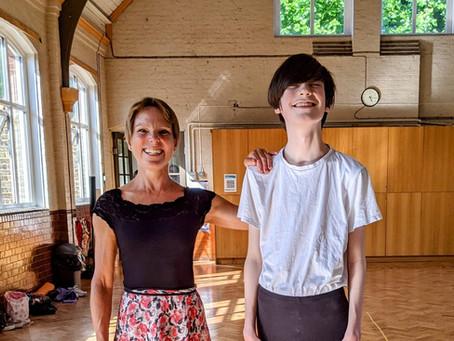 A Boy who does Ballet // Benjamin Mead