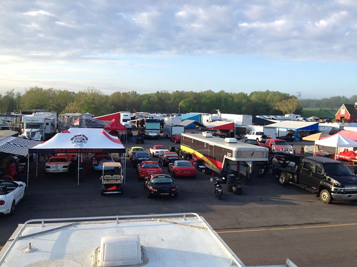 Facebook - Race Paddock on a great morning