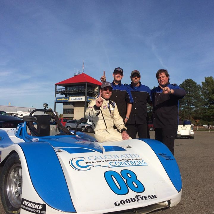 Facebook - Won the 1st race at Mid Ohio! #SCCA