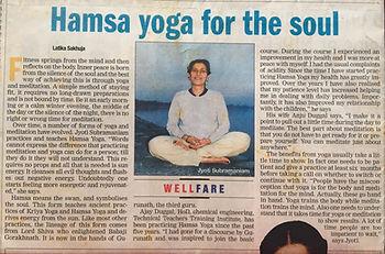 Kriyacharya Jyoti Times Of India 2004