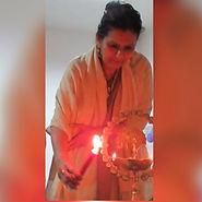 Jyoti passing the light