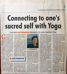 Kriyacharya Jyoti The Tribune