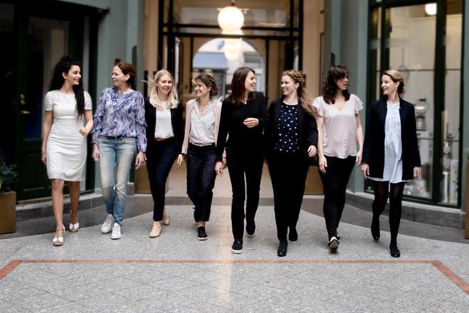 Fotograf Maiken Kestner - Erhvervsbillede af innovations kvinder
