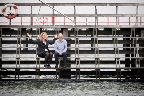Brandingfotograf Maiken Kestner - stemningsbillede ved vandet