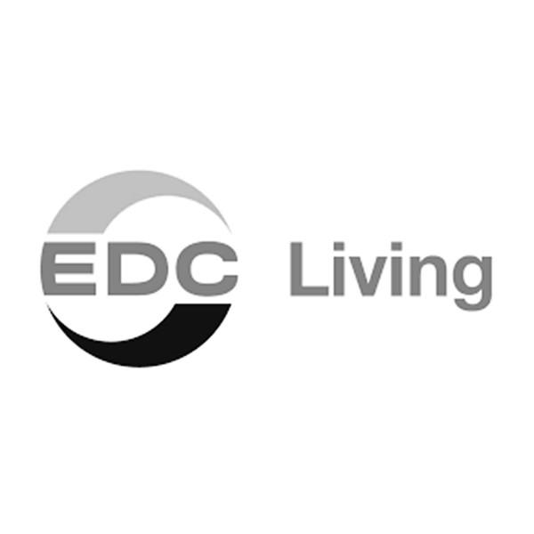 EDC living logo