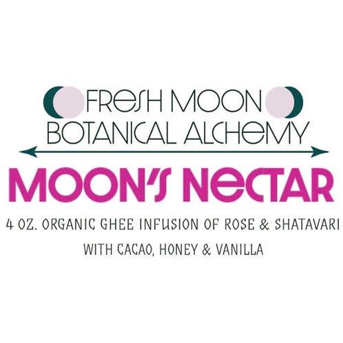 Moon's Nectar Shatavari Rose Ghee 4 oz.