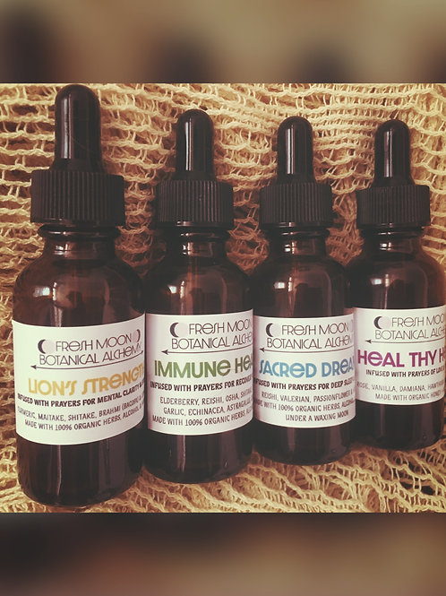 Love's Bundle of 4 Tinctures