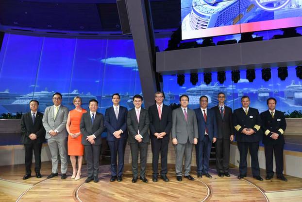 VIP group photos