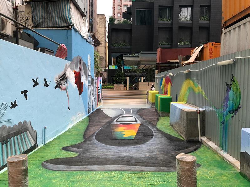 Artlane 3-D Ground Painting - Riitta Kuisma