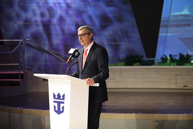 Michael Bayley, President and CEO of Royal Caribbean International.
