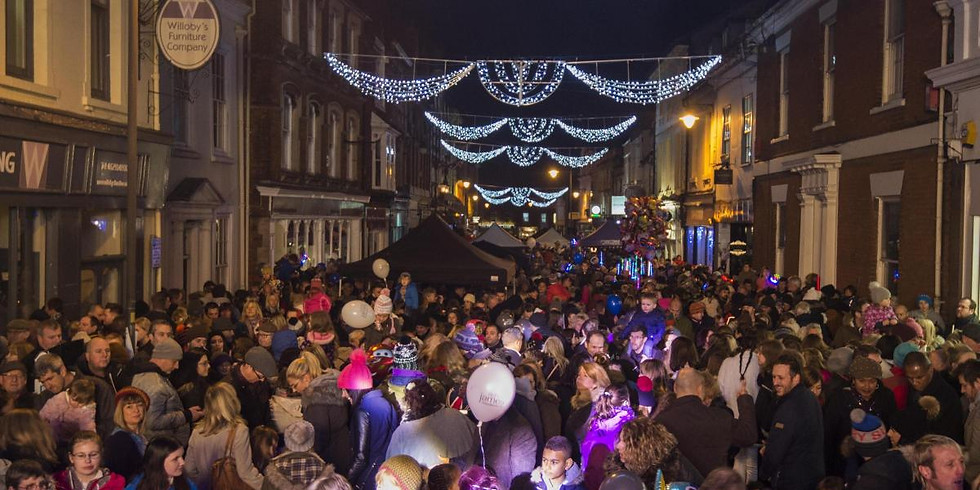 Old Town Christmas Lights Switch-on 2019