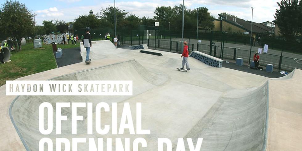 Haydon Wick Skate Park Opening
