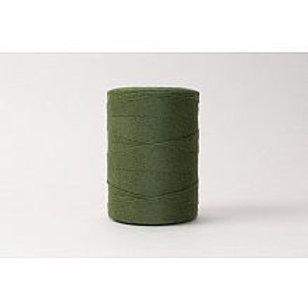 FIBER: forrest green warp string