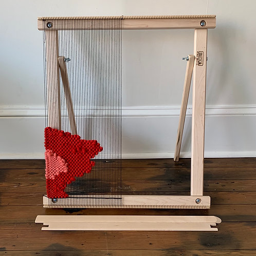 LOOM: 20 Inch Weaving Frame Loom with Stand