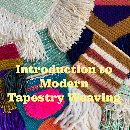 EBOOK:  Introduction to Modern Tapestry Weaving