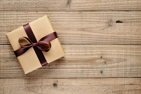 GIFT CERTIFICATE:  $10 increments