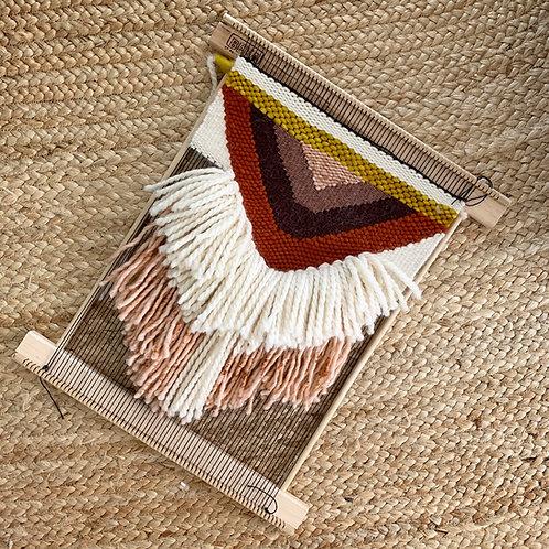 LOOM: 20 Inch Portable Tapestry Weaving Frame Loom