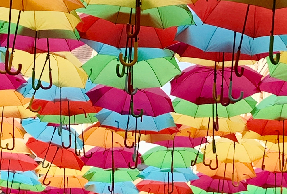 Umbrellas in Paris   Photo by Martha Clark Scala